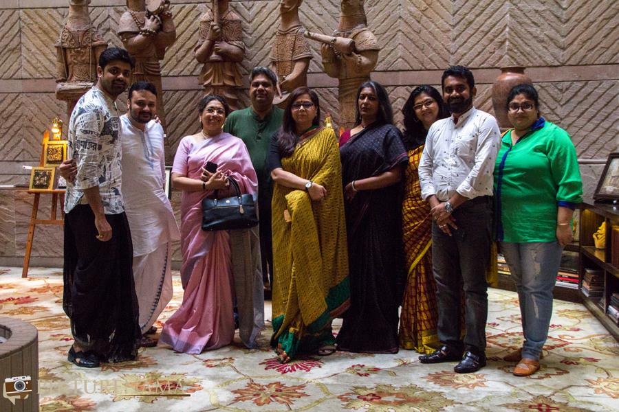 Doi Ilish at Taj Bengal the team