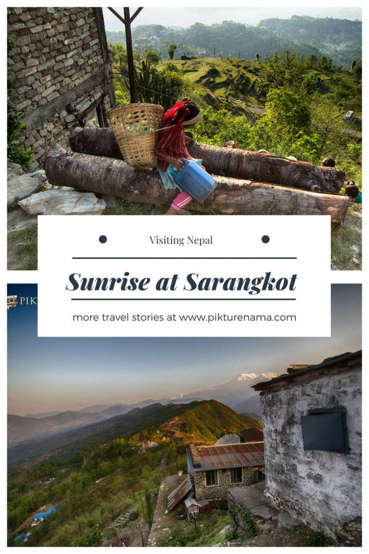 Sarangkot Sunrise - 1