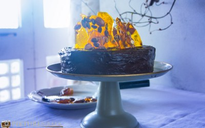 Double Chocolate Mousse Cake- a Dinner Party Hit