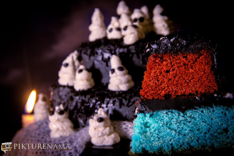 Halloween Ghost cake - `15