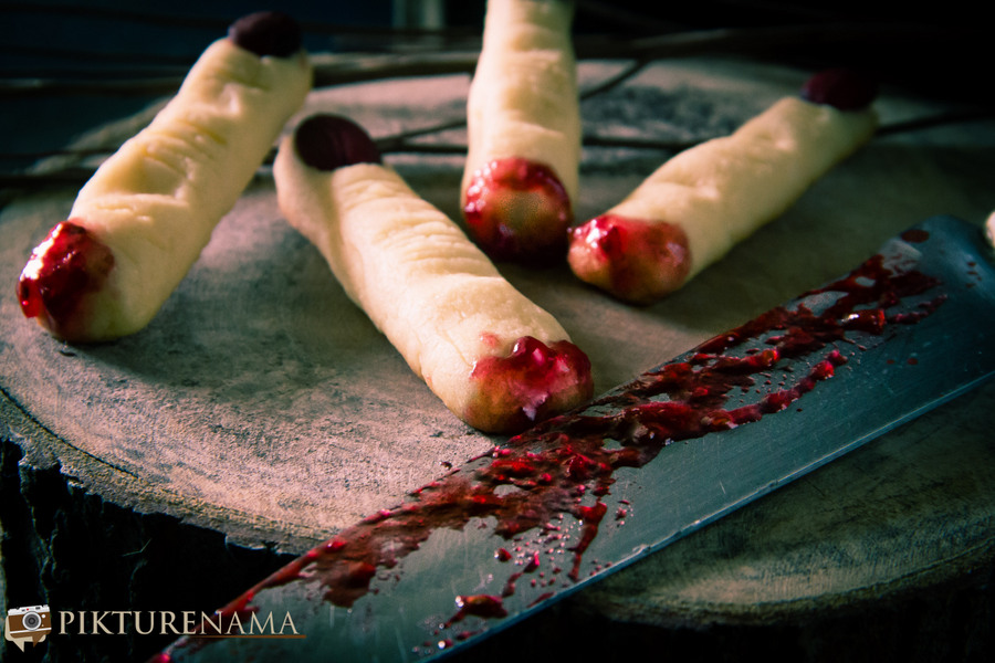 Halloween Witch Finger cookies - 12