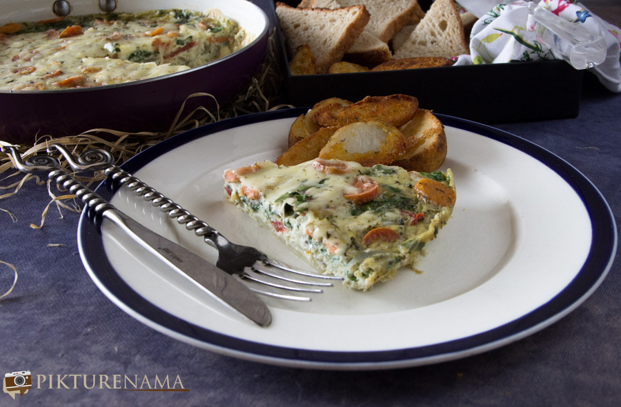 Farmer's Frittata- Easy and Wholesome Breakfast