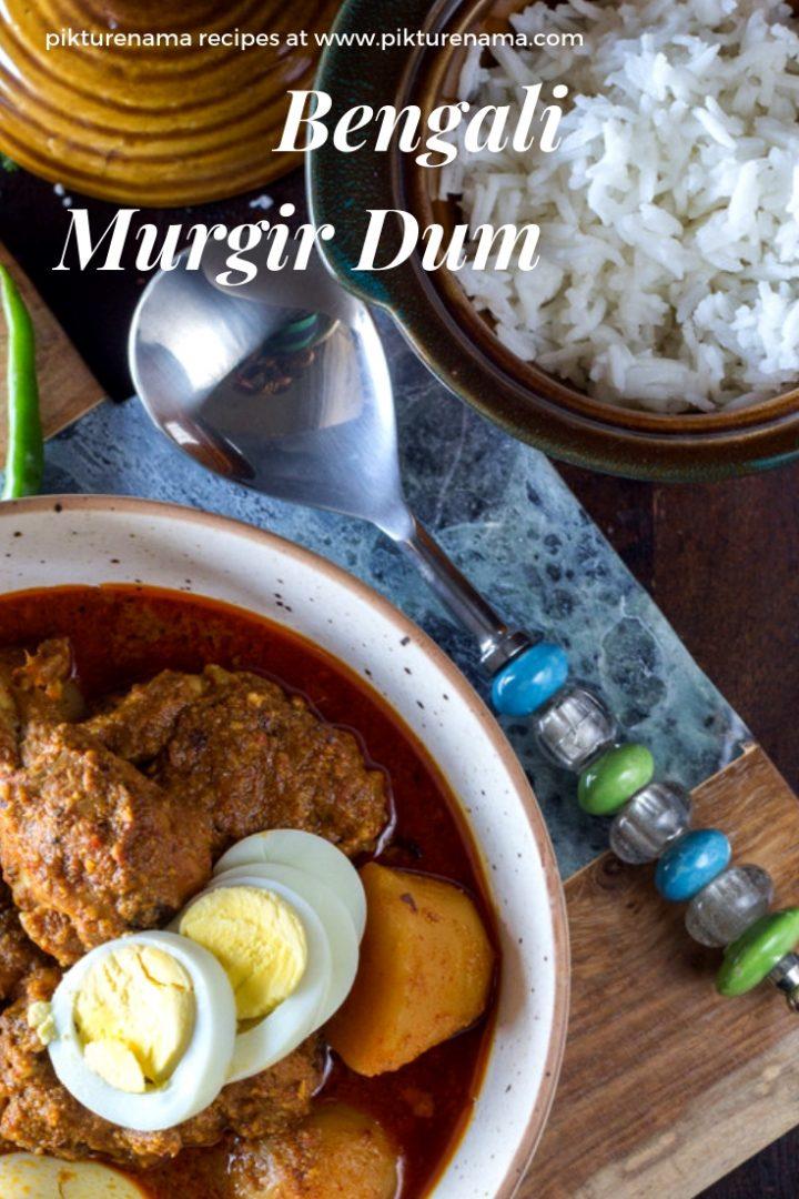 Bengali Murgir Dum for pinterest