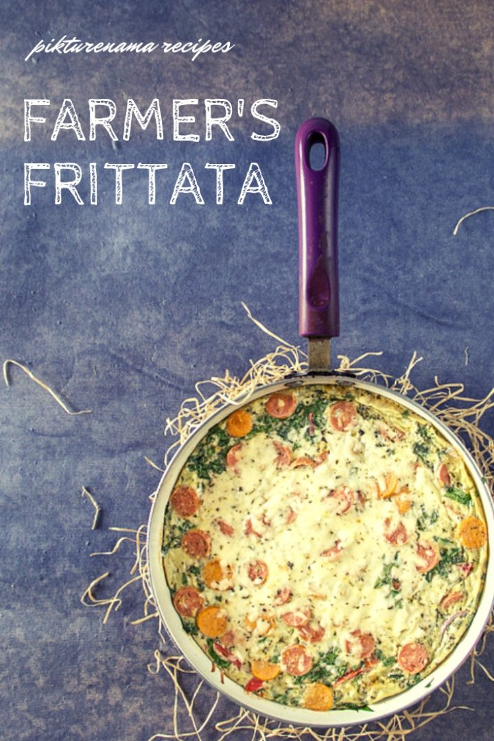 Farmer's Frittata pinterest -3