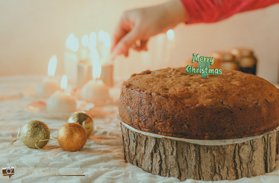 Eggless rich fruit cake - 6