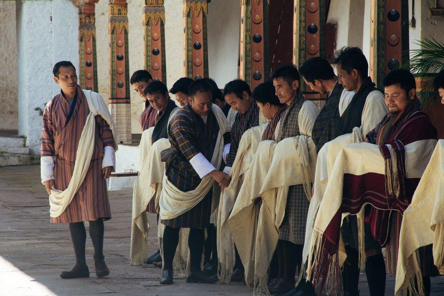 Inside Punakha Dzong Bhutan - 6