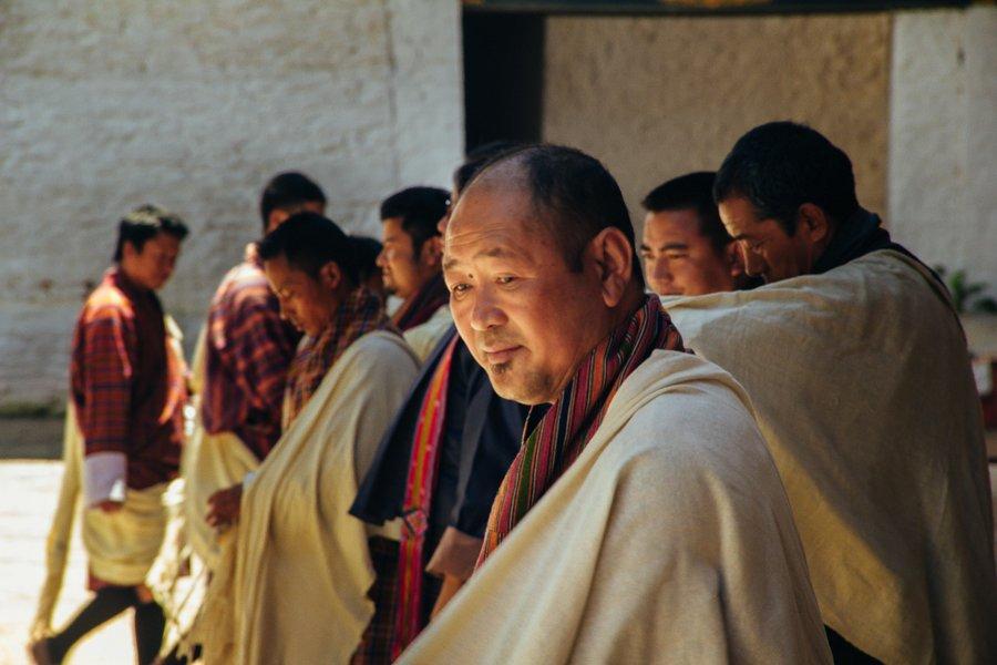 Inside Punakha Dzong Bhutan - 1