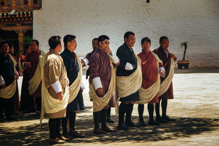 Inside Punakha Dzong Bhutan - 2