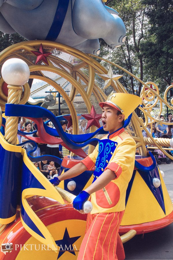 Flighst of Fantasy in Hong Kong DIsneyland - 3