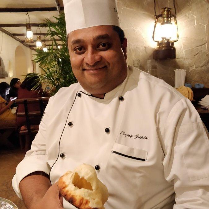 When I surrendered myself to Sujoy Gupta, Executive chef of Taj Bengal Kolkata