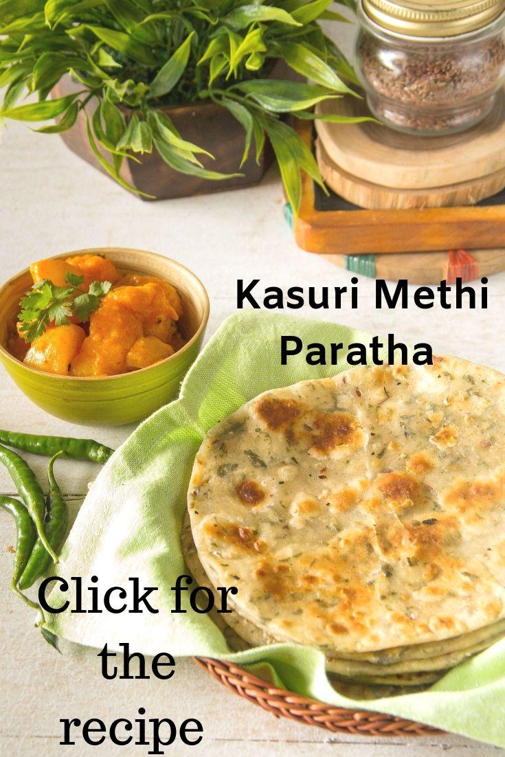 Kasuri methi Paratha pint - 1