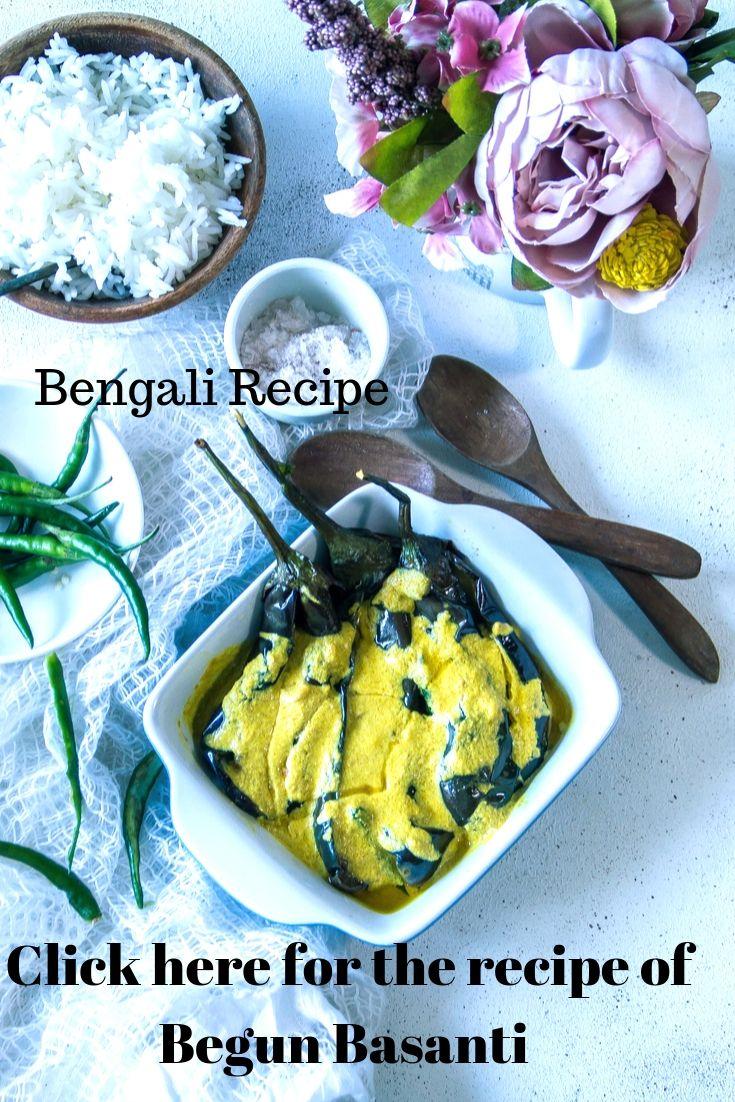 How to make Begun Basanti - 2