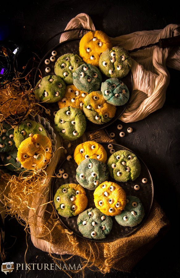 Monster cookies - 5
