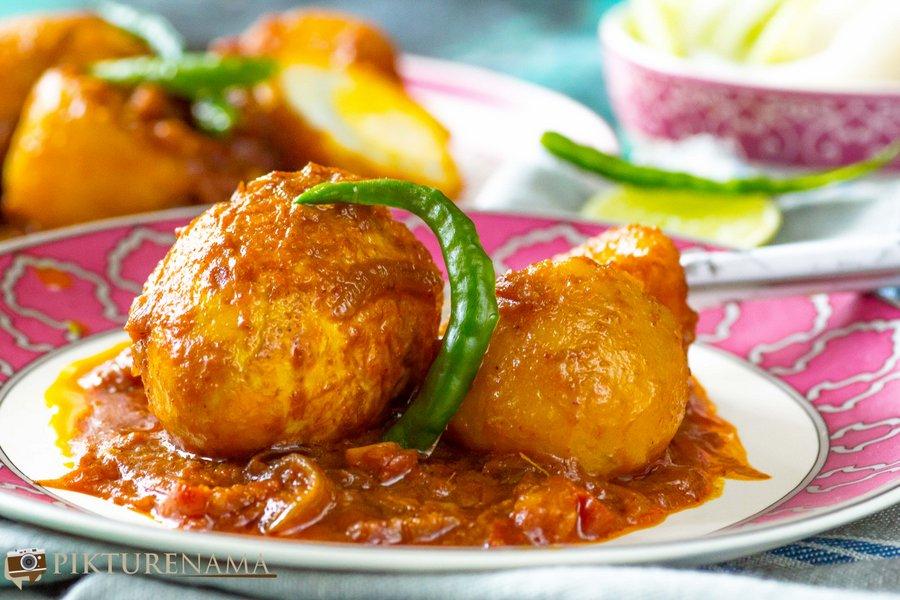 Dim Kosha – the slow cooked Bengali egg delicacy