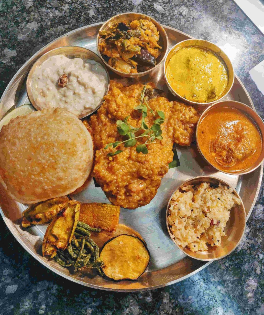 Bhoger khichuri thala