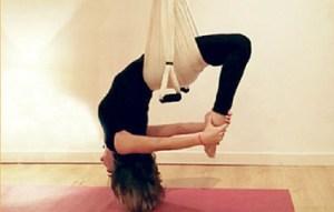 Yoga y yoga aéreo en Madrid