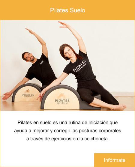 Pilates suelo.