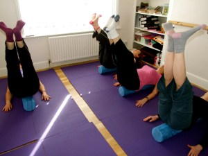Pilates with Priya: Rollers in Action