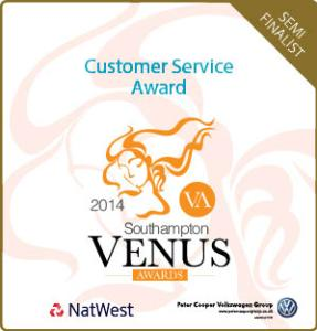 Venus Awards customer_south