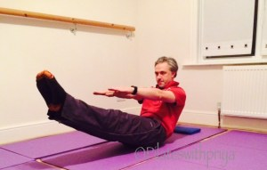 Pilates with Priya: James does Pilates