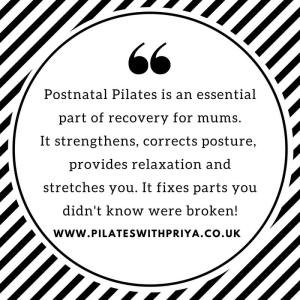 Postnatal Pilates: why all mums need it