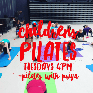 Pilates with Priya: Children's Pilates Classes