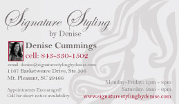 Signature Styling by Denise Business Card Design