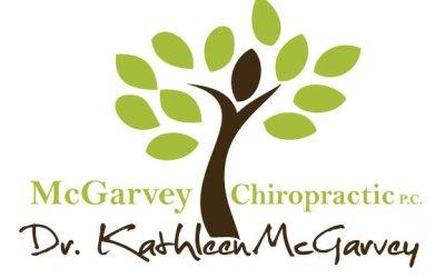 New Logo Design for McGarvey Chiropractic!