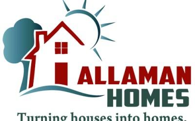 New Logo Design for Allaman Homes!