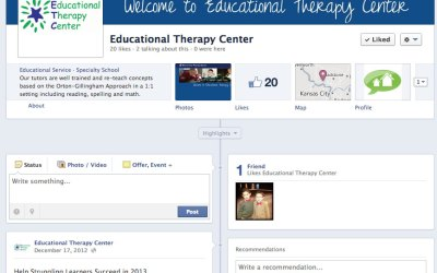New Social Media for Educational Therapy Center