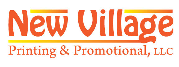 New Logo for New Village Printing & Promotional LLC!