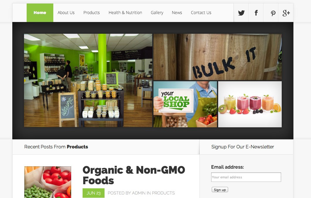 New Website for Bulk It Foods