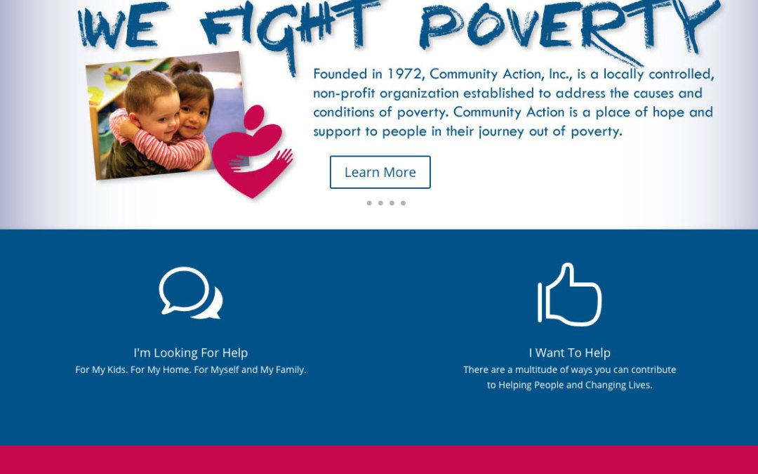 New Website for WeFightPoverty.Org