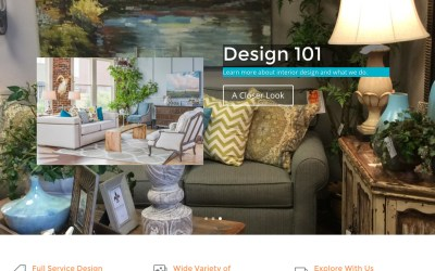 New Website for Picture Perfect Interiors in Overland Park, KS