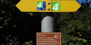 Jakobsweg im Martinstobel bei St. Gallen