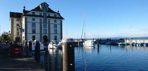 Kornhaus Rorschach at the Lake of Constance