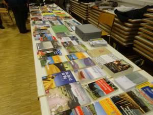 Büchertisch Jakobswegliteratur