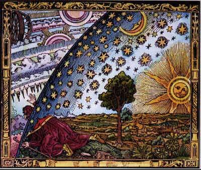Holzstich von Flammarion