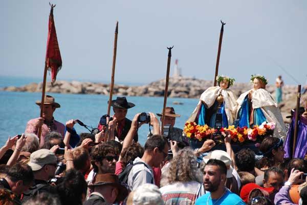 Prozession les Saintes Maries