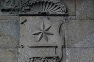 Stern über dem Grab
