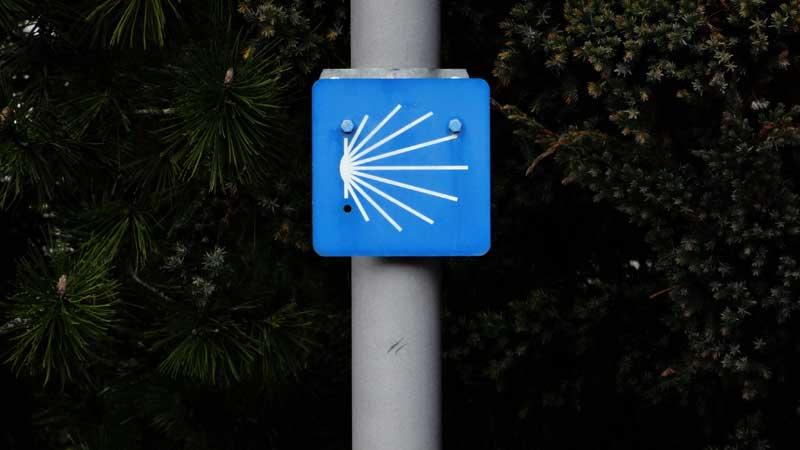 Signalisation Jakobsweg