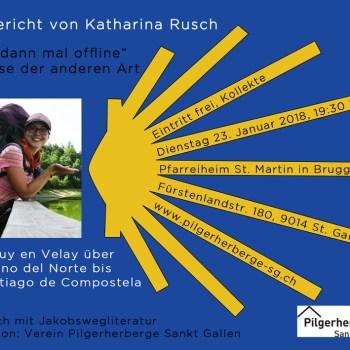 Vortrag Jakobsweg Katharina Rusch