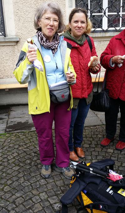 Start Pilgerreise Rom habemus feminas