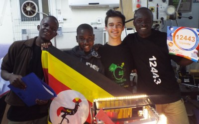 Our Beacon of Hope's Robotics Israel Competition: making history with unmatched determination!