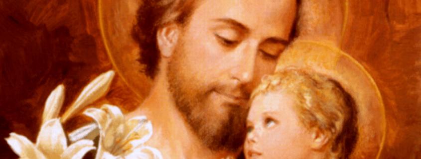 Saint Joseph with baby Jesus