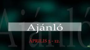 Műsoraink április 5-12.