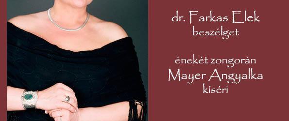 Prof. dr. Temesi Mária operaénekes Piliscsabán