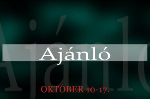 Műsoraink október 10-17.