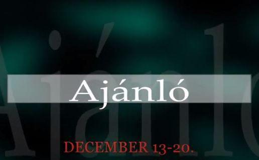 Műsoraink december 13-20.
