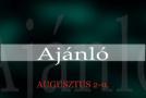 Műsoraink augusztus 2-9.